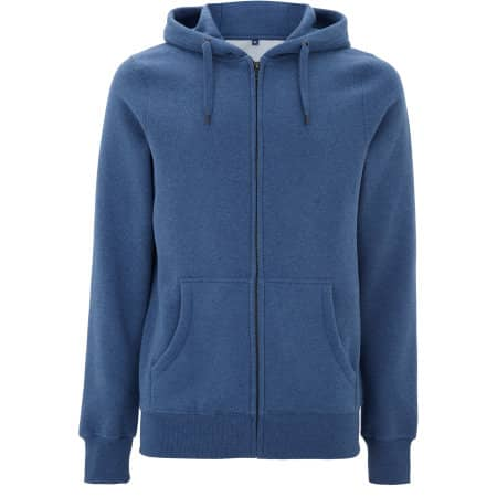 Men's/Unisex Classic Zip Up Hoody von Continental Clothing (Artnum: N59Z