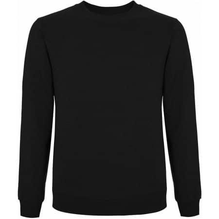 Unisex Standard Fitted Sweatshirt in Black von Continental Clothing (Artnum: N62
