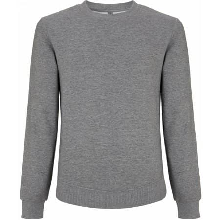 Unisex Standard Fitted Sweatshirt in Melange Grey von Continental Clothing (Artnum: N62