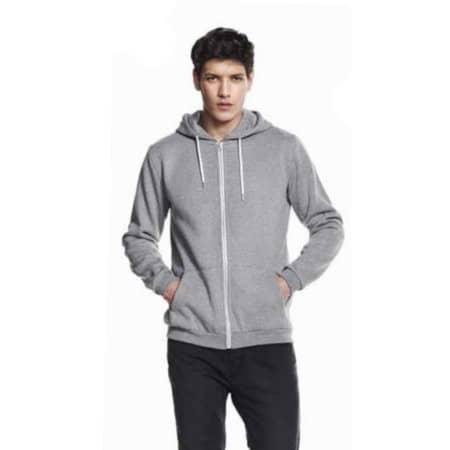 Mens Light Weight Zip Hoody Plain von Continental Clothing (Artnum: N67Z