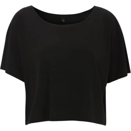 Women's Cropped Top T-Shirt von Continental Clothing (Artnum: N91