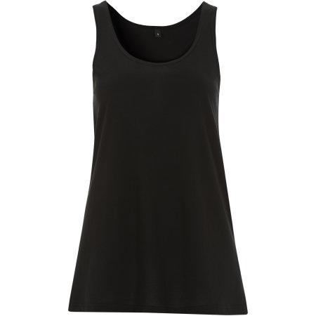 Women`s Tunic Vest in Black von Continental Clothing (Artnum: N93