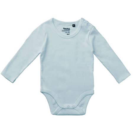 Babies Long Sleeve Bodystocking in Light Blue von Neutral (Artnum: NE11130
