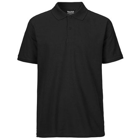 Men`s Classic Polo in Black von Neutral (Artnum: NE20080