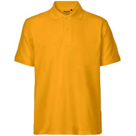 Men`s Classic Polo in Yellow von Neutral (Artnum: NE20080