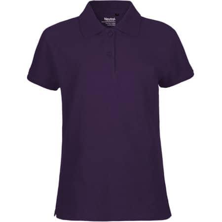 Ladies` Classic Polo in Purple von Neutral (Artnum: NE22980