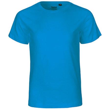 Kids` Short Sleeve T-Shirt in Sapphire von Neutral (Artnum: NE30001