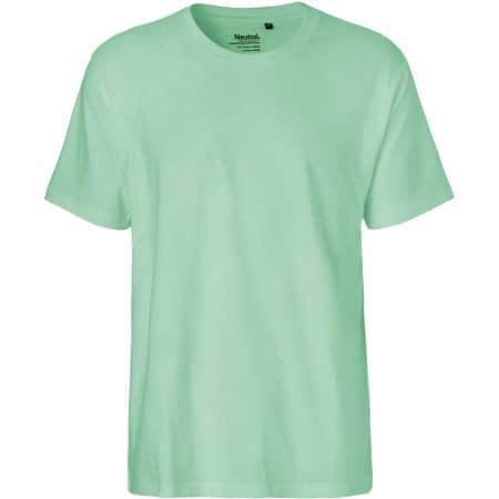 Men`s Classic T-Shirt in Dusty Mint von Neutral (Artnum: NE60001