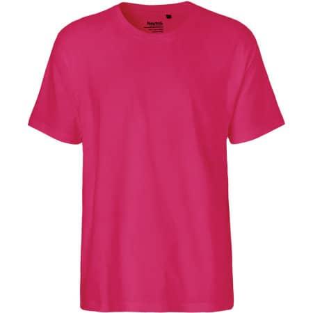 Men`s Classic T-Shirt in Pink von Neutral (Artnum: NE60001