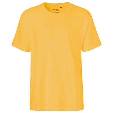 Men`s Classic T-Shirt in Yellow von Neutral (Artnum: NE60001