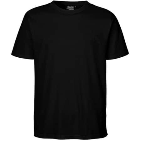Men`s Regular T-Shirt in Black von Neutral (Artnum: NE60002