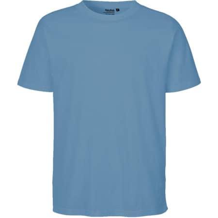 Men`s Regular T-Shirt in Dusty Indigo von Neutral (Artnum: NE60002