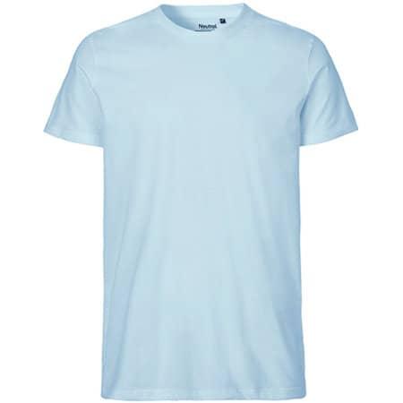 Men`s Fit T-Shirt in Light Blue von Neutral (Artnum: NE61001