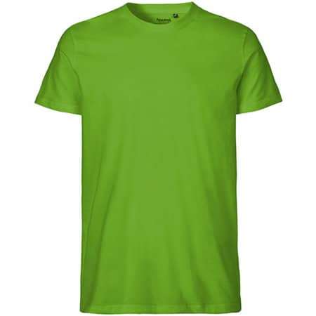 Men`s Fit T-Shirt in Lime von Neutral (Artnum: NE61001