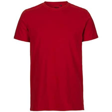 Men`s Fit T-Shirt in Red von Neutral (Artnum: NE61001