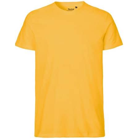 Men`s Fit T-Shirt in Yellow von Neutral (Artnum: NE61001