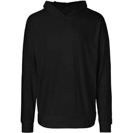 Unisex Jersey Hoodie in Black von Neutral (Artnum: NE62101
