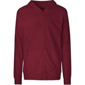 Unisex Jersey Hoodie with Zip