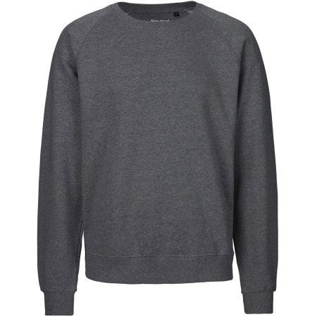 Unisex Sweatshirt Organic in Dark Heather von Neutral (Artnum: NE63001