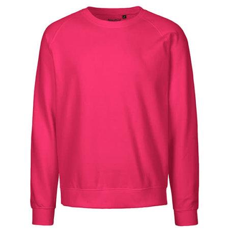 Unisex Sweatshirt Organic in Pink von Neutral (Artnum: NE63001