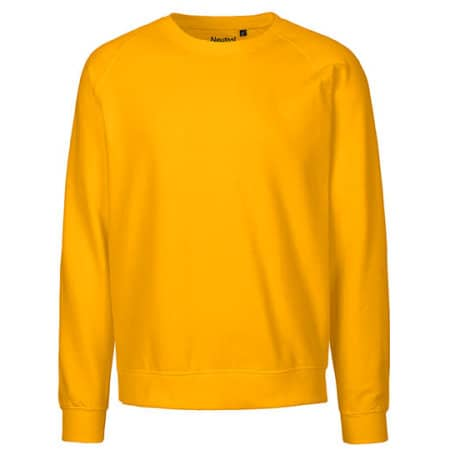 Unisex Sweatshirt Organic in Yellow von Neutral (Artnum: NE63001