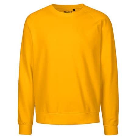 Unisex Sweatshirt Organic in Yellow von Neutral (Artnum: NE63001