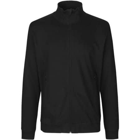 Unisex High Neck Jacket in Black von Neutral (Artnum: NE73601