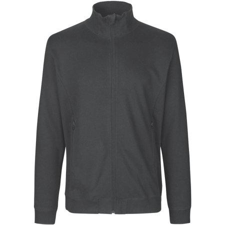Unisex High Neck Jacket in Charcoal von Neutral (Artnum: NE73601
