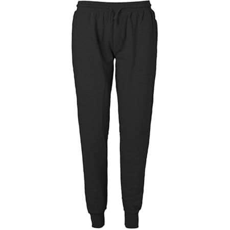 Sweatpants with Cuff and Zip Pocket in Black von Neutral (Artnum: NE74002