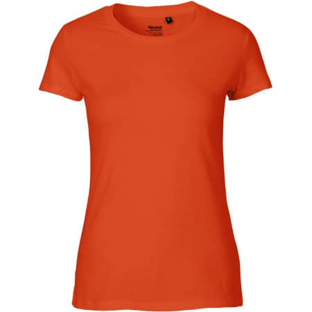 Ladies` Classic T-Shirt in Orange von Neutral (Artnum: NE80001
