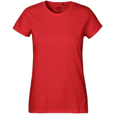 Ladies` Classic T-Shirt in Red von Neutral (Artnum: NE80001