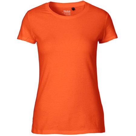 Ladies` Fit T-Shirt in Orange von Neutral (Artnum: NE81001