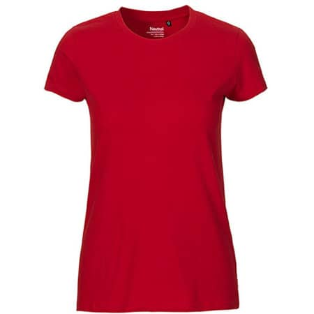 Ladies` Fit T-Shirt in Red von Neutral (Artnum: NE81001