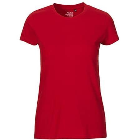 Ladies` Fit T-Shirt in Red von Neutral (Artnum: NE81001