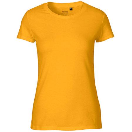 Ladies` Fit T-Shirt in Yellow von Neutral (Artnum: NE81001