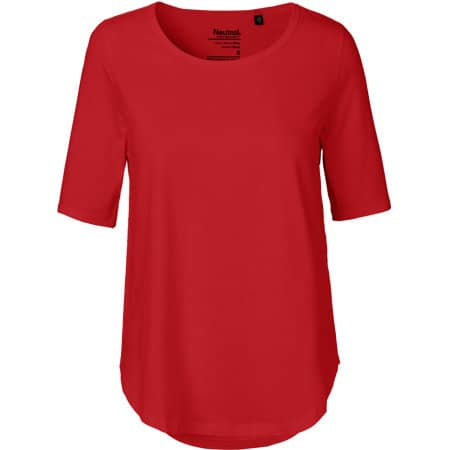 Ladies` Half Sleeve T-Shirt in Red von Neutral (Artnum: NE81004