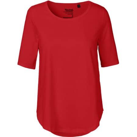 Ladies` Half Sleeve T-Shirt in Red von Neutral (Artnum: NE81004