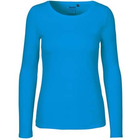Ladies` Long Sleeve T-Shirt in Sapphire von Neutral (Artnum: NE81050