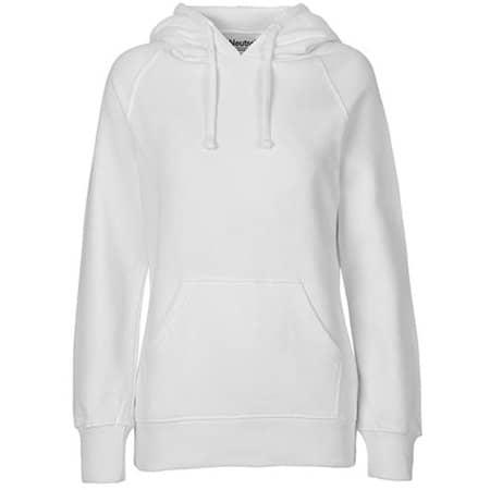 Ladies` Hoodie in White von Neutral (Artnum: NE83101