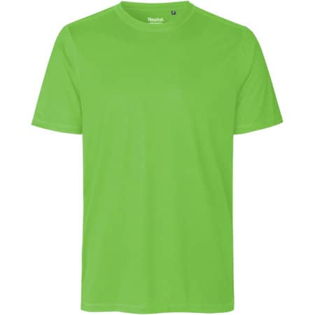 Unisex Performance T-Shirt in Lime von Neutral (Artnum: NER61001