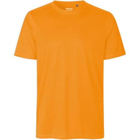 Unisex Performance T-Shirt in Okay Orange von Neutral (Artnum: NER61001