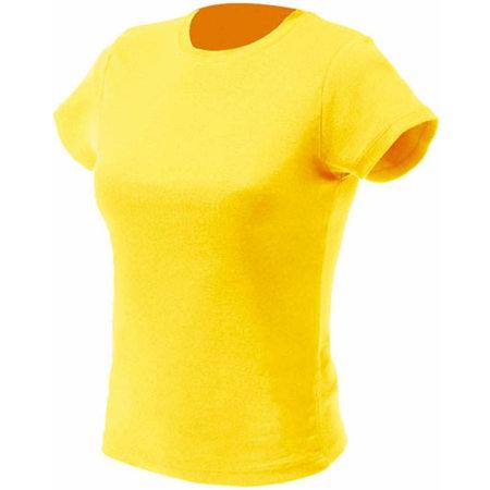 Women`s T-Shirt in Yellow von Nath (Artnum: NH141