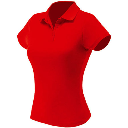 Woman Piqué Polo in Red von Nath (Artnum: NH504