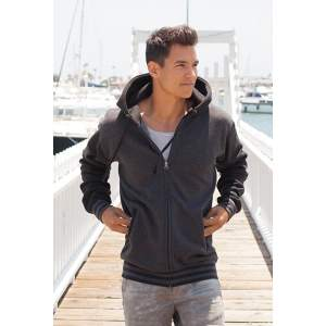 Unisex Heavyweight Varsity Zip Hood