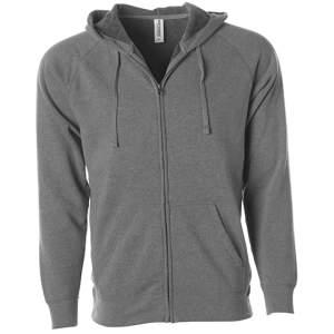 Unisex Midweight Special Blend Raglan Zip Hood
