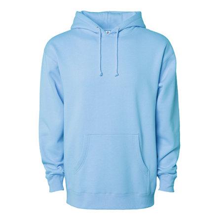 Men`s Heavyweight Hooded Pullover in Blue Aqua von Independent (Artnum: NP380