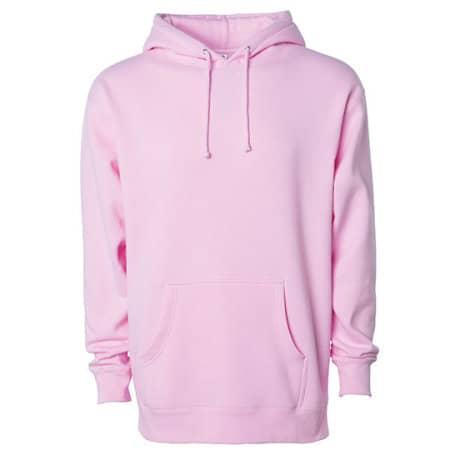 Men`s Heavyweight Hooded Pullover in Light Pink von Independent (Artnum: NP380