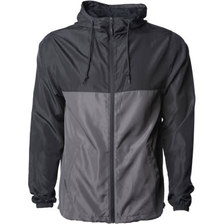 Men`s Lightweight Windbreaker Jacket von Independent (Artnum: NP700