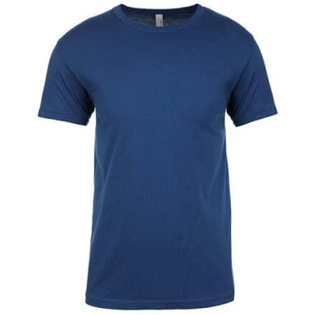 Men`s Crew Neck T-Shirt von Next Level Apparel (Artnum: NX3600