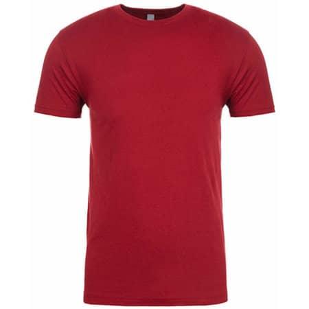 Men`s Sueded T-Shirt in Cardinal von Next Level Apparel (Artnum: NX6410